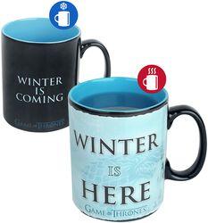 Winter is here - Heat-Change Mug