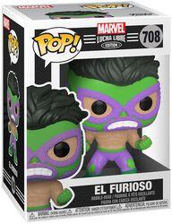 El Furioso - Marvel Luchadores - Vinyl Figure 708