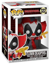 Clown Deadpool Vinyl Figure 322
