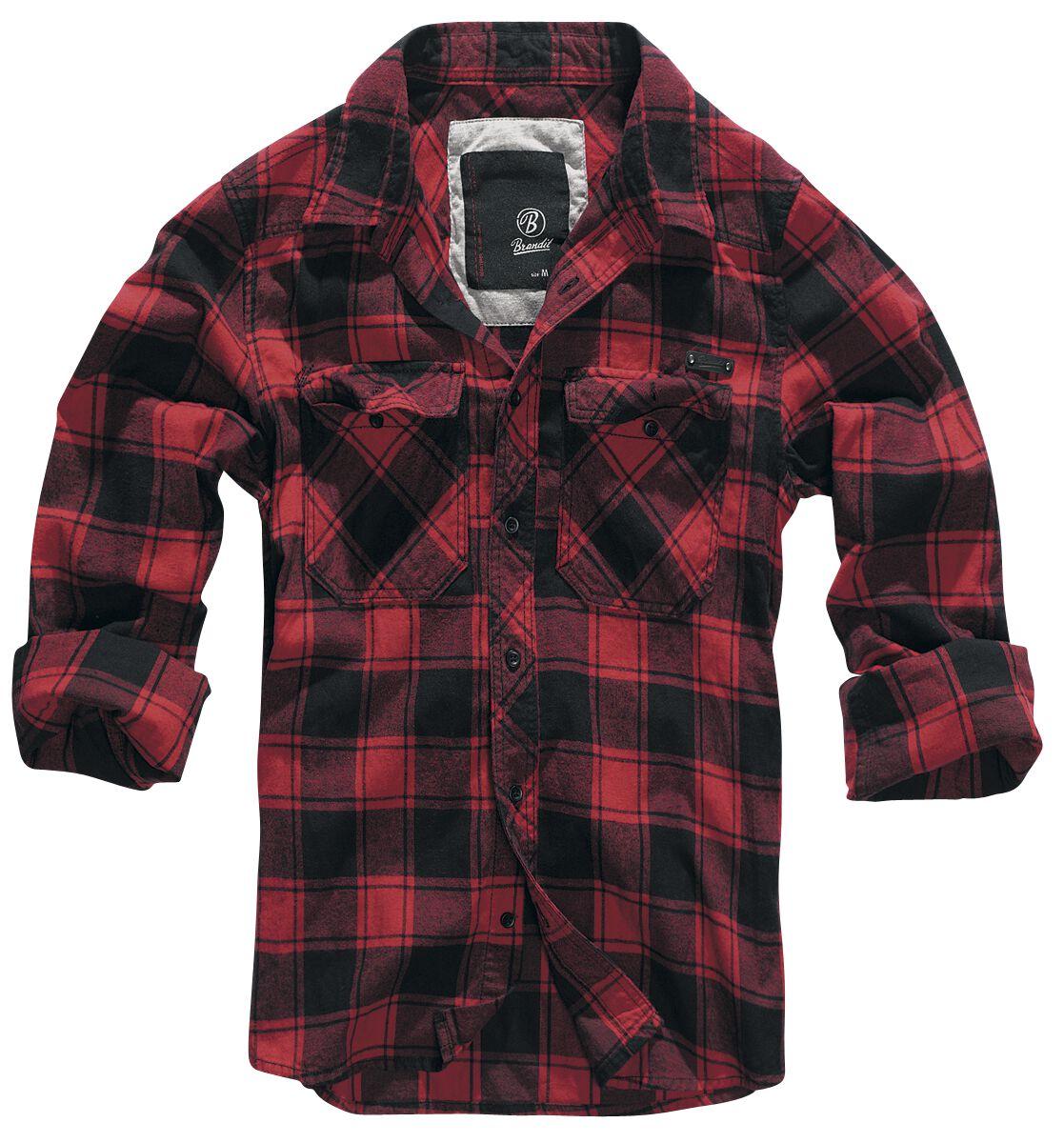 brandit camicia uomo  Checkshirt   Brandit Camicia in flanella   EMP