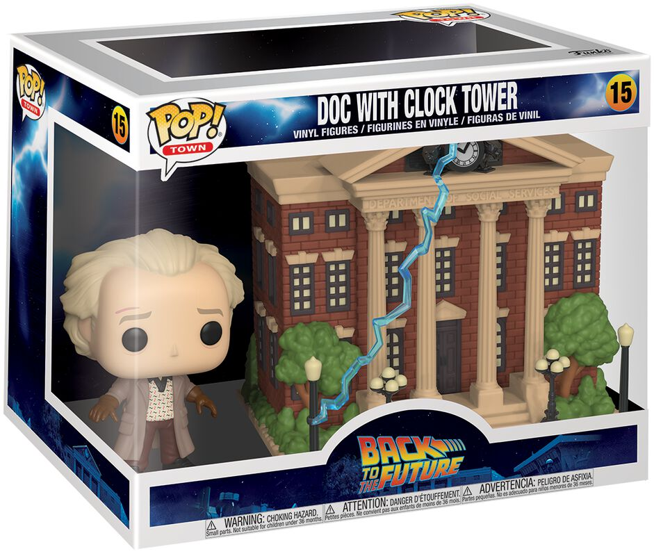 Doc with Clock Tower (Pop! Town) Vinyl Figure 15