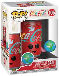 I'd Like to Buy the World a Coke Can Vinyl Figure 105