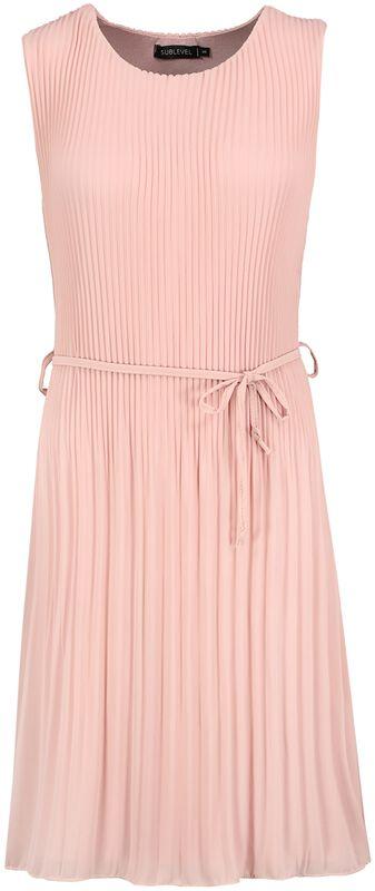 Plissé Dress