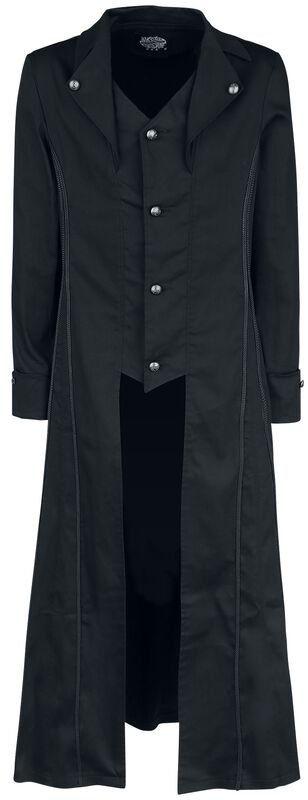 Black Classic Coat