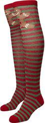 Christmas Overknee Socks