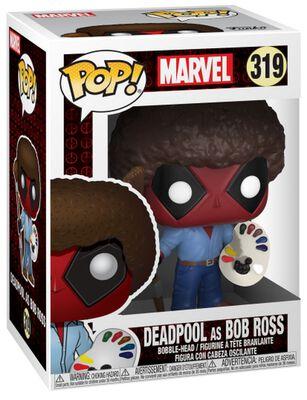 Deadpool as Bob Ross Vinyl Figure 319