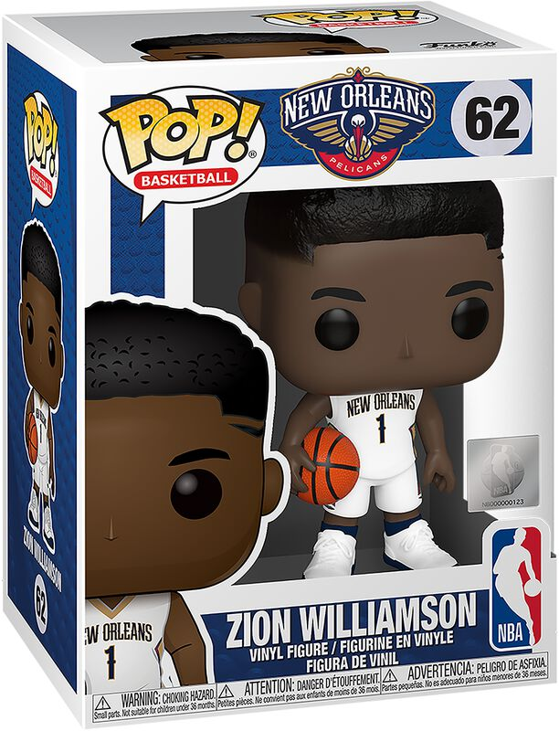 New Orleans Pelicans - Zion Williamson Vinyl Figure 62