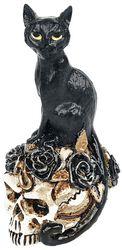 Cat and Skull: Miniature Skull