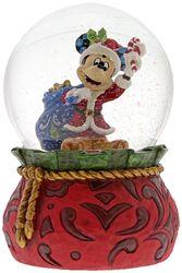 Santa Mickey - Snow Globe