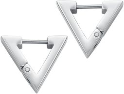 Triangular Dangling Earrings