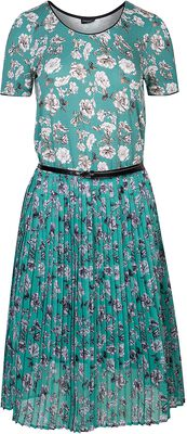 Green Bouquet Dress