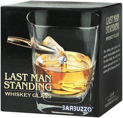 Last Man Standing Whiskey Glass