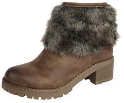 Faux Fur Boot