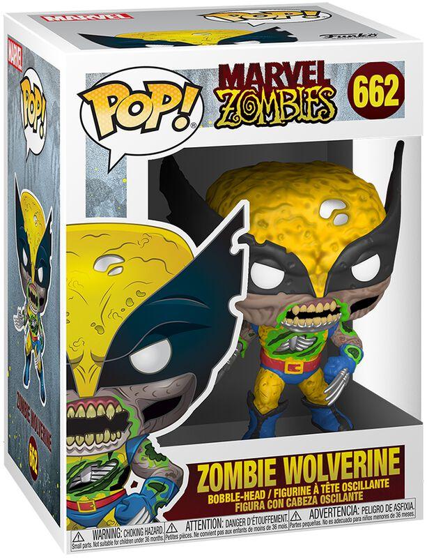 Zombies - Zombie Wolverine Vinyl Figure 662