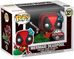 Mermaid Deadpool Vinyl Figure 321