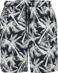 Pattern Resort Shorts - White Palm
