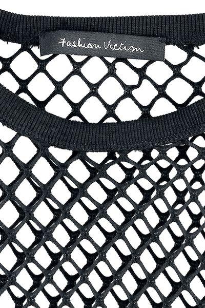 maniche Net Maglia lunghe Top a CCqt1a