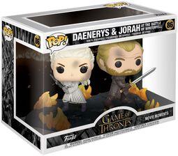 Daenerys and Jorah at the Battle of Winterfell (Movie Moments) Vinyl Figure 86