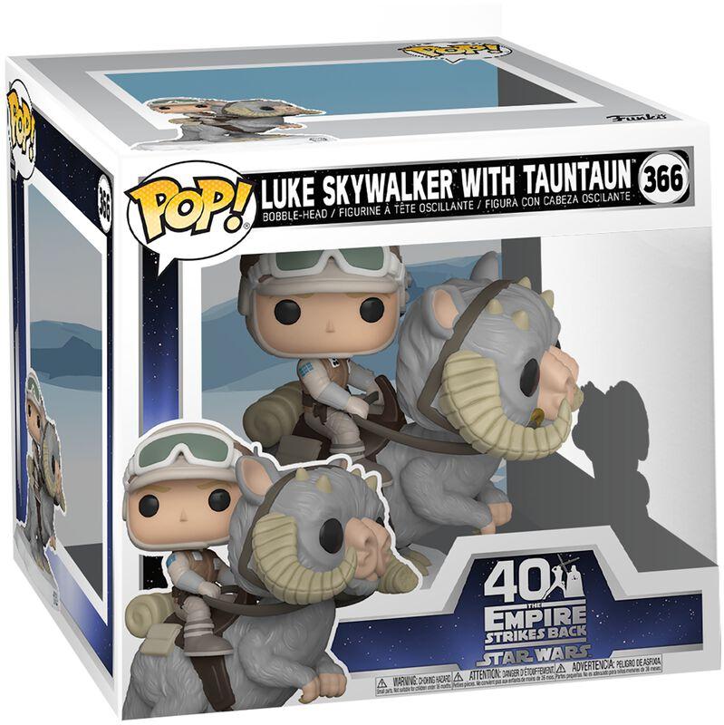 Empire Strikes Back 40th Anniversary - Luke Skywalker With TaunTaun (Super Pop!) Vinyl Figur 366