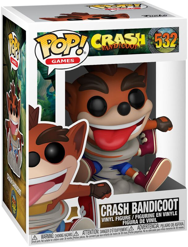 Crash Bandicoot - Vinylfiguur 532