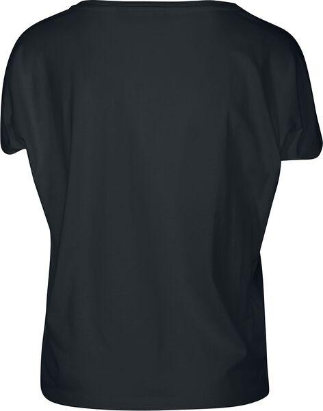 Shirt Basic Ladies Shoulder Drop T Tee aCxqYp6