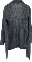 Ladies Knitted Long Cape