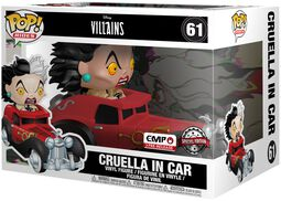 Cruella in Car POP Rides Vinyl Figure 61
