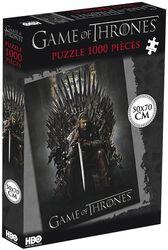 Ned Stark sul Trono di Spade (1000 pezzi)