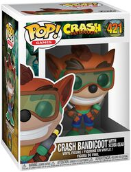 Crash Bandicoot with Scuba Gear Vinyl Figure 421