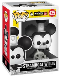 Mickey's 90th Anniversary - Steamboat Willie Vinyl Figure 425