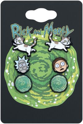 Rick And Morty, Cat and Portal