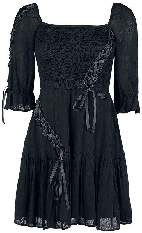 Smocked Flare Dress
