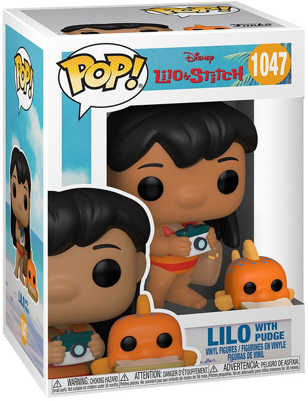 Lilo with Pudge Vinyl Figure 1047