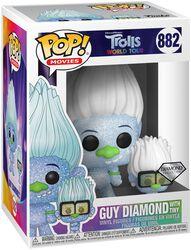 World Tour - Guy Diamond with Tiny (Glitter) Vinyl Figure 882