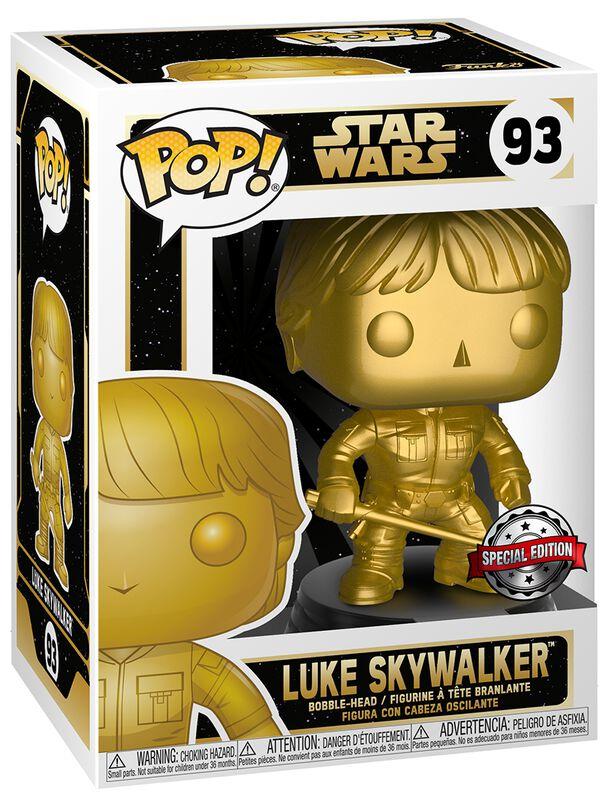 Luke Skywalker (Gold Metallic) Vinyl Figure 93