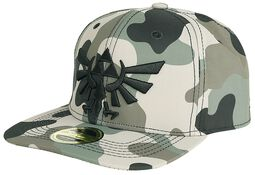 Camouflage 3D Embroidery Snapback Cap