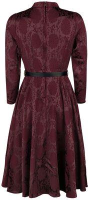 Chevron Red Swing Dress