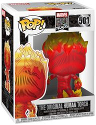 80th - The Original Human Torch Vinyl Figure 501