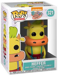 90's Nickelodeon Heffer (Chase Edition Possible) Vinyl Figure 321