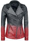 Dip Dye PU-Jacket