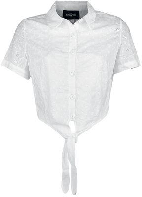 Sammy Broderie Anglaise Tie Blouse