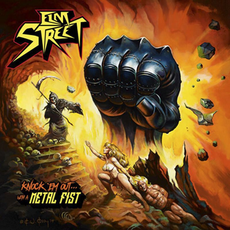 Knock em out - with a metal fist