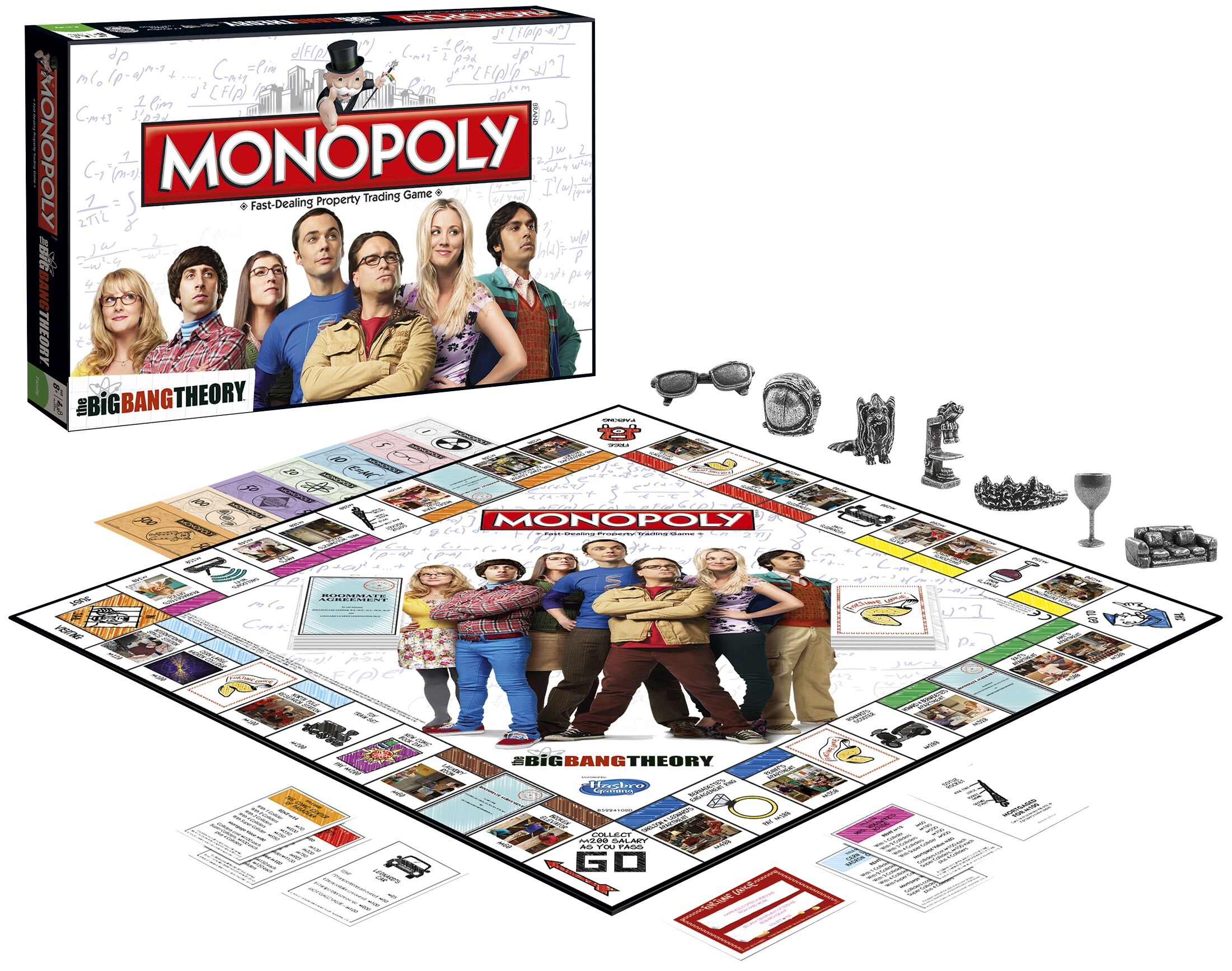 Monopoly the big bang theory gioco da tavolo - Gioco da tavolo bang ...