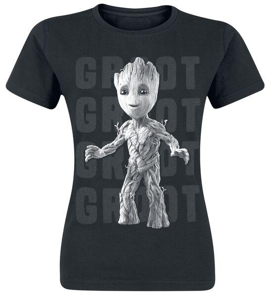 2 - Groot Photo T-Shirt Tutti i prodotti: Guardiani della Galassia