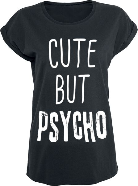 Cute But Psycho T-Shirt 2 recensioni Tutti i prodotti: Slogans