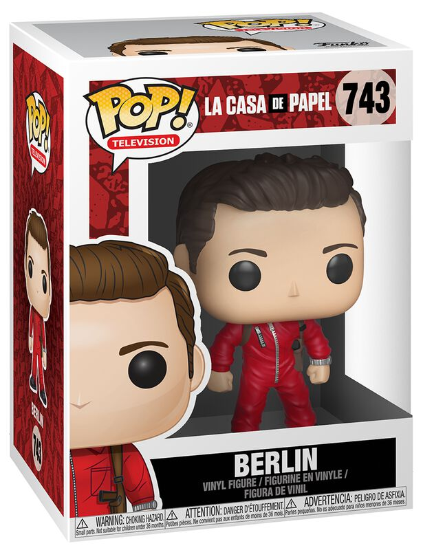 Berlin (Chase Edition Possible) Vinyl Figure 743