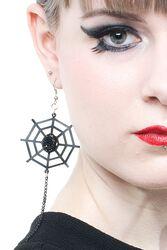 Spider-Web Earrings