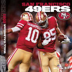 San Francisco 49ers - 2021 Calendar