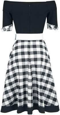 Off-The-Shoulder Swing Dress