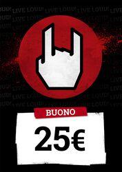 Buono EMP 25,00 EUR